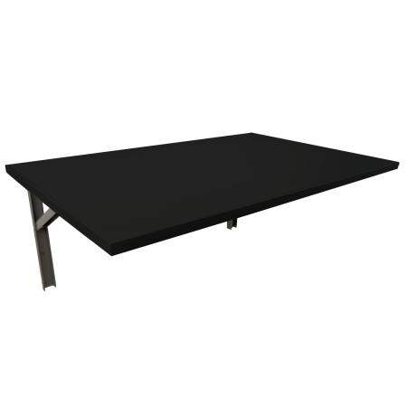 80x60 Wandklapptisch   Schwarz