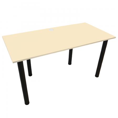 100x60 Schreibtisch Bürotisch Computertisch | Vanille