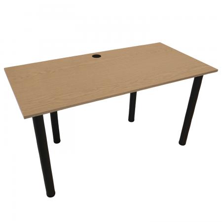100x60 Schreibtisch Bürotisch Computertisch | Eiche hell