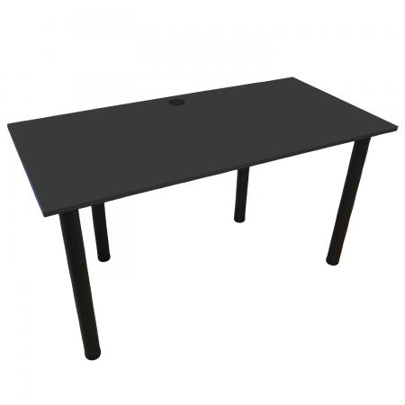 120x60 Schreibtisch Bürotisch Computertisch | Dark Graphite