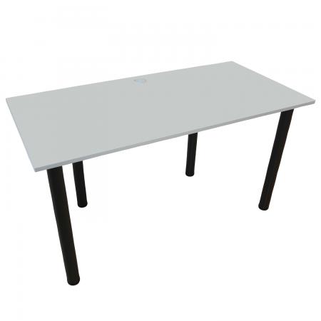 120x60 Schreibtisch Bürotisch Computertisch | Hellgrau