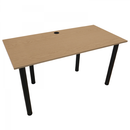 120x60 Schreibtisch Bürotisch Computertisch | Eiche hell
