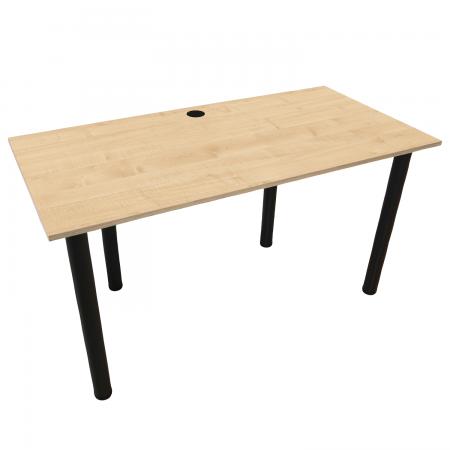 120x60 Schreibtisch Bürotisch Computertisch | Ahorn