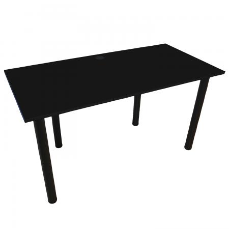 135x65 Schreibtisch Bürotisch Computertisch | Schwarz