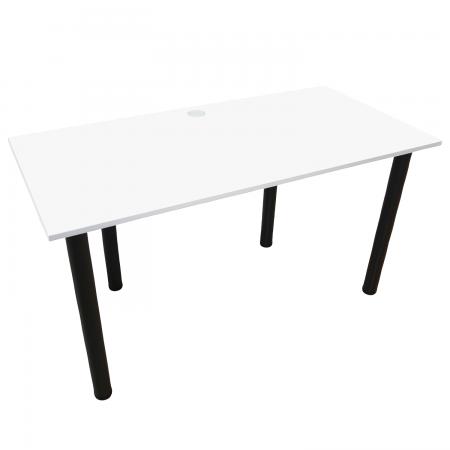 135x65 Schreibtisch Bürotisch Computertisch | Weiss